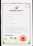 Certificate of patent for surge resistance.JPG
